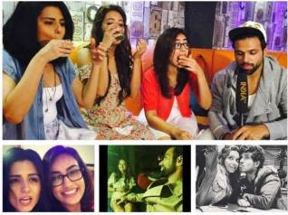 Asha Negi Celebrates Birthday With Friends
