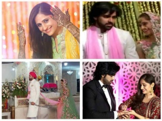 Mayank Gandhi & Hunar Hale Get Married In Delhi (PICS)