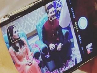 See PICS: Mohit Abrol & Mansi Srivastava Get Engaged