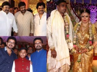 PICS: Celebs At Radhika's Daughter Rayane-Abhimanyu Wedding