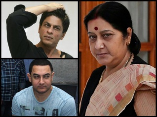 Sushma Swaraj Slams SRK & Aamir For Opting Surrogacy!