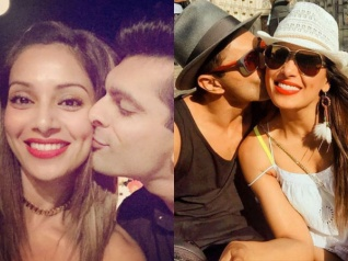 Sweet Pictures! Karan Singh Grover Kisses Bipasha Basu