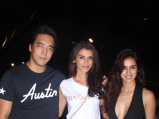 Disha Patani Attends Tiger Shroff's A Flying Jatt Screening!