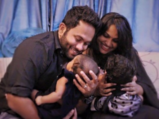 WOW! Aju & Augustina Blessed With Twins For A Second Time