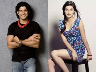 Kriti Sanon Talks About Her Next Film With Farhan Akhtar!