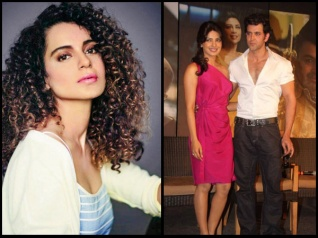 Oh No, Not Again! Kangana Makes Fun Of Hrithik & Priyanka!