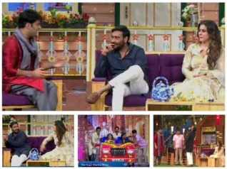 Ajay, Kajol & Kapil Take Viewers On A Laughter Ride!