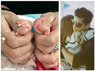Karanvir & Teejay Share Adorable Pictures Of Their Twins!