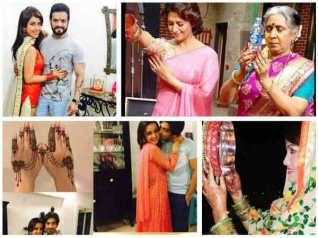 From Divyanka To Sanaya – TV Stars Celebrate Karva Chaut