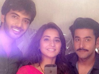 JNDSD: Vikram, Shivani & Shashank Bond On The Sets (PICS)