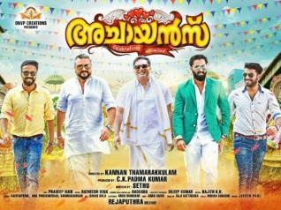 Achayans First Look Poster Is Out!
