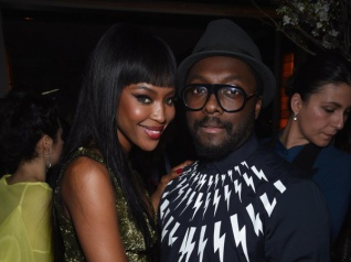 """Naomi Campbell Is Queen Of Fashion"", Says Will.i.am"