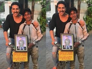 Crazy! Akshay Kumar's Fan Cycles From Haridwar To Mumbai