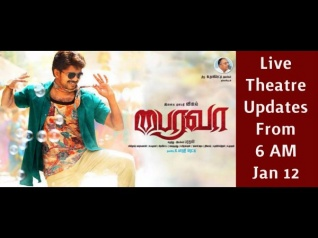 Bairavaa: Live Updates From The Theatre!