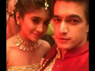 Look Who Surprised Mohsin Khan On The Sets Of YRKKH!