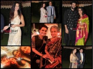 Katrina, Alia, Sid & Others At A Wedding Reception [Pics]