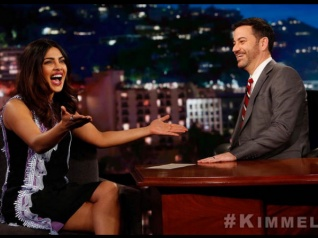 Priyanka Chopra Appears On 'Jimmy Kimmel Live!'