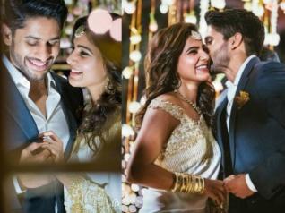 PHOTOS: Samantha And Naga Chaitanya Get Engaged!