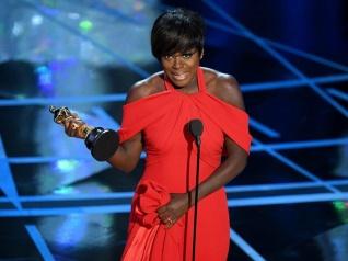 Viola Davis Wins Her First Oscar