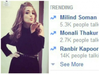 Check Out Monali Thakur's Befitting Reply To A Hater…