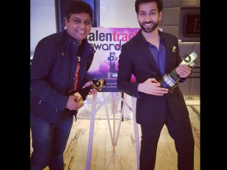 Nakuul Mehta Receives Talent Track Award For Best Actor!