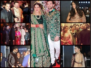 Neil Nitin Mukesh's Wedding Reception Pictures!