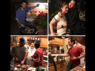 In Pics: Ranbir & Saif Flaunt Their Cooking Skills!
