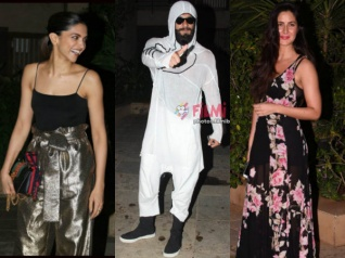 Ouch! Ranveer Ditches Deepika; Parties With Katrina