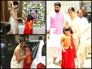 PICS: Aishwarya Rai Pays Homage To Her Father With Aaradhya!