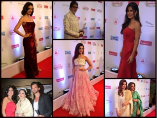 Katrina, Disha & Others At Hello Hall Of Fame Awards 2017!