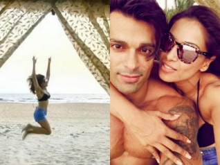 Bipasha & KSG Celebrate Their First Wedding Anniversary!