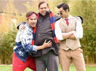 Varun's 'Judwaa' Boys Raja & Prem CAPTURED In A Frame!