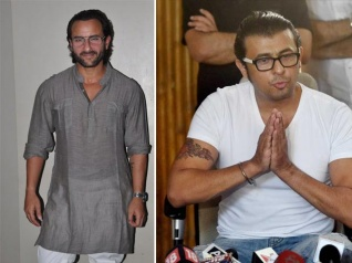 A Little Aggressive! Saif Reacts To Sonu's Azaan Tweet