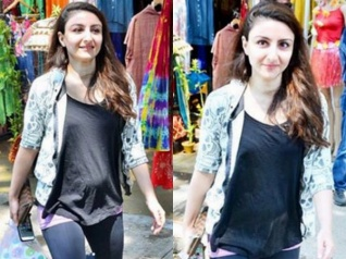 In Pics: Soha Ali Khan Spotted With A Baby Bump!