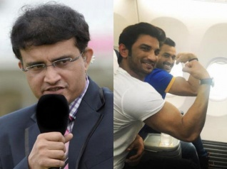 Sushant Takes A Sly Dig At Ganguly For Criticising Dhoni?