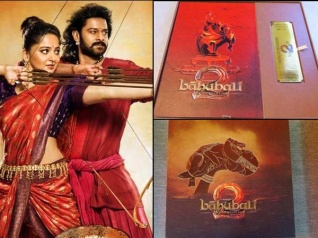 The Pictures Of Baahubali 2 Premiere Invitation Cards!