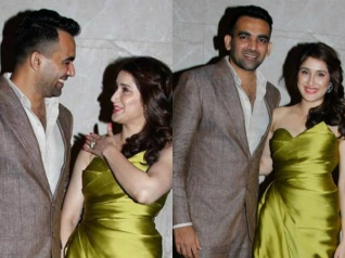 View Pictures! Zaheer Khan Gets Engaged To Sagarika Ghatge!