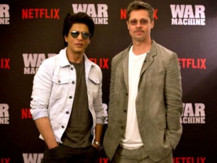What Happened When SRK & Pitt Shared A Stage Together?