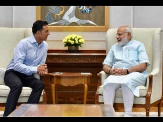 Is Akshay Kumar Playing PM Narendra Modi?