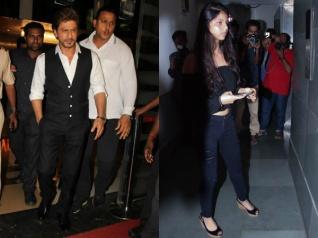 Shahrukh & Suhana Attend Salman Khan's Tubelight Screening!