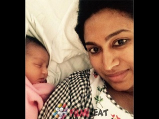 AWWWW! SO CUTE! Shwetha Srivatsav's Daughter's Pictures!