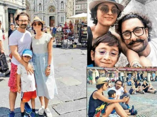 PICS: Aamir Takes A Break From Work; Vacays With His Family!
