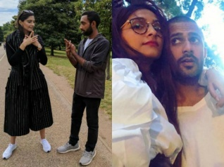 Sonam Kapoor & Anand Ahuja Live It Up In New York City! Pics