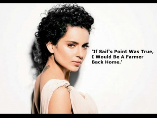 Kangana Ranaut REACTS To Saif's Open Letter On Nepotism!
