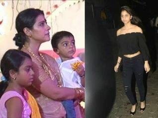 Kajol Reacts To Paparazzi Hounding SRK's Daughter Suhana!