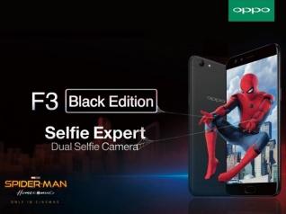 OPPO F3 Celebrates The New Movie Spider-Man