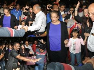 Aishwarya Tells Media To STOP Taking Photos; Shouts ENOUGH