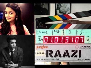 Vicky Kaushal- Alia Bhatt's Raazi Goes On Floors!