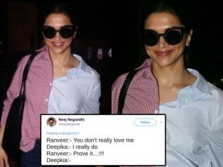 Deepika Padukone Trolled For Her Ridiculous Airport Shirt!