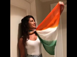 Priyanka Chopra Gets Trolled For Wearing A Tricolour Dupatta